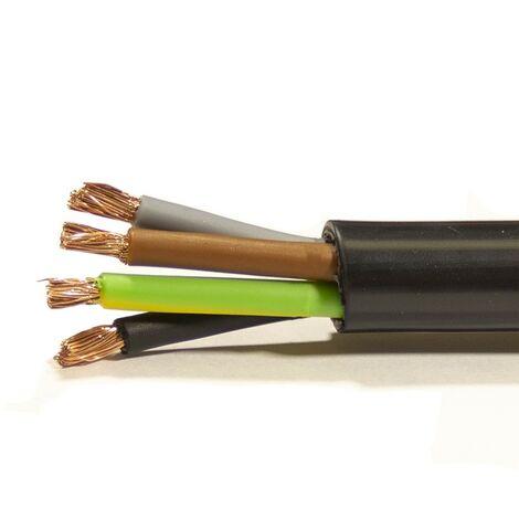 Mtr Manguera 4X4 mm. FLEXIBLE PVC RV-K 0,6/1KV -CPR-