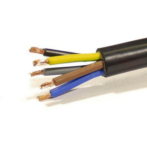 Mtr Manguera 5X2,5 mm. FLEXIBLE PVC RV-K 0,6/1KV -CPR-
