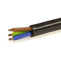 Mtr Manguera GC RV-K 0,6/1KV FLEXIBLE PVC 3X2,5 mm.1000v