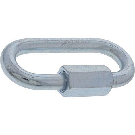 Muba 10992 Elemento de unión para conducto de escombros, plata