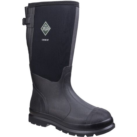 Muck Boots Mens Chore XF Gusset Classic Work Boots (14 UK) (Black)