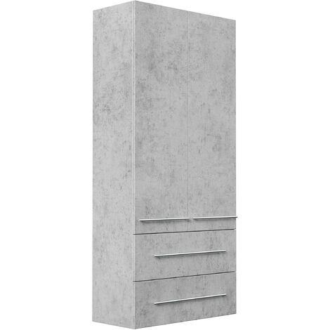 Mueble auxiliar XL Gris hormigón