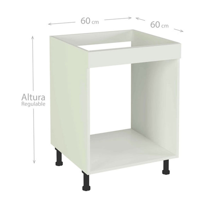 Mueble bajo de cocina para horno