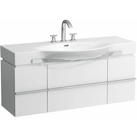 Mueble bajo lavabo Laufen, 1 cajón 1195x460x375, para lavabos palacio 811704, 812704, color: multicolor - H4013010759991