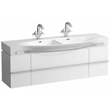 Mueble bajo lavabo Laufen, 1 cajón 1490x460x375, apto para lavabos palacio 81370.6, color: Decoración Roble Antracita - H4013530755481