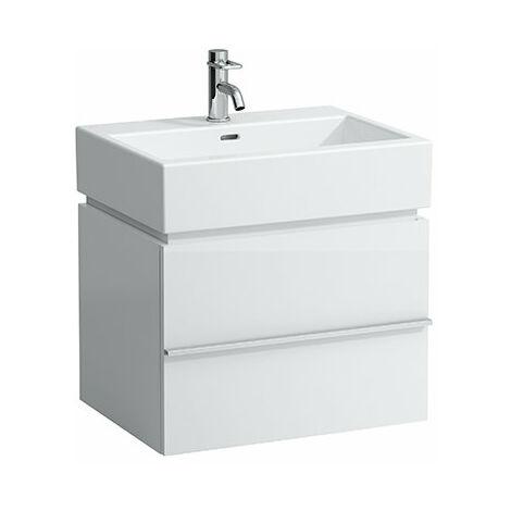 Mueble bajo lavabo Laufen, 1 cajón 455x595x455, apto para lavabo living city 817433, color: Decoración Roble Antracita - H4011810755481