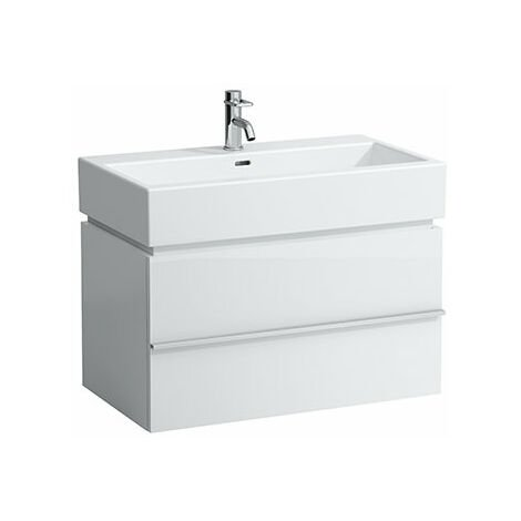 Mueble bajo lavabo Laufen, 1 cajón 455x790x455, apto para lavabo living city 817436, color: Roble Calizo - H4012410755191