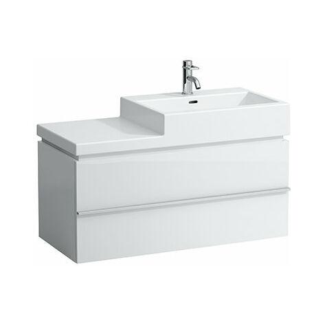 Mueble bajo lavabo Laufen, 1 cajón, 455x990x455, apto para lavabo living city 8.1843.7, 8.1843.1, 8.1843.2, color: Decoración Roble Antracita - H4012810755481