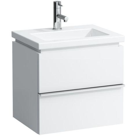 Mueble bajo lavabo Laufen, 1 cajón, 490x375x455, se adapta al cuadrado de la vivienda 1543.4, color: Decoración Roble Antracita - H4011410755481