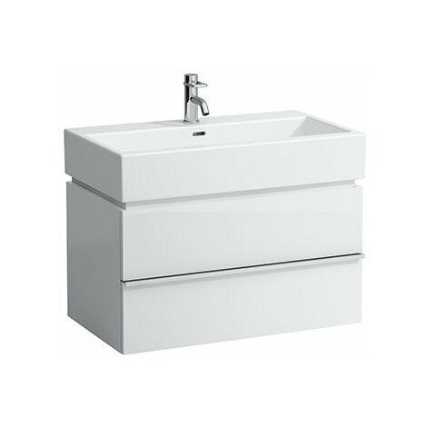 Mueble bajo lavabo Laufen, 2 cajones, 455x790x455, apto para lavabo living city 817436, color: Decoración Roble Antracita - H4012420755481
