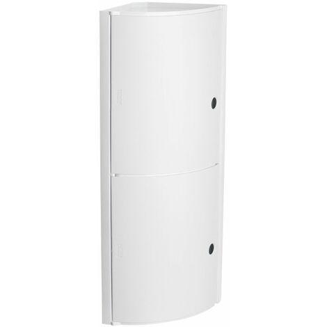 Mueble Baño Rinconero 20x20x62,5mm 2 Puertas Pp Bl Fix Tatay