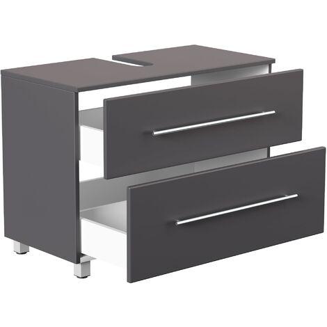 Mueble base universal con patas 85 cm Antracita
