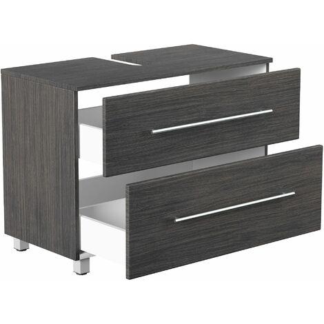 Mueble base universal con patas 85 cm antracita vetado