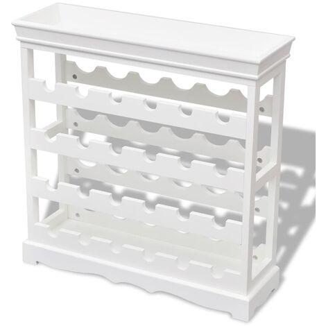 Mueble botellero Abreu blanco