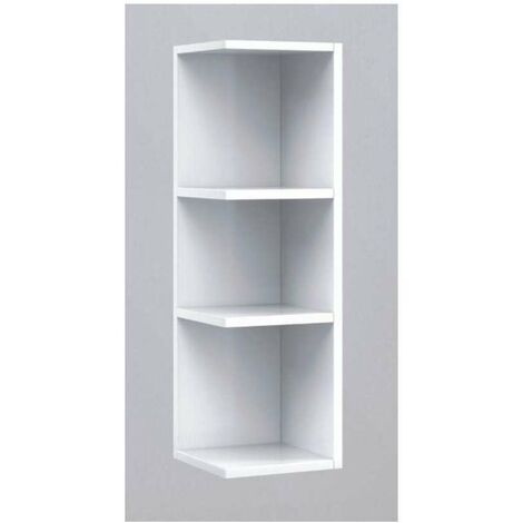 "main image of ""Mueble camerino rinconero Sulf con estantes 65 cm(alto)20 cm(ancho)21 cm(largo) Color Blanco"""