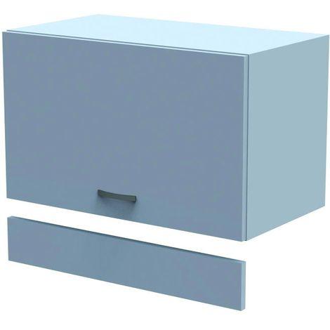 Mueble cocina alto 60x35xH70 cm en madera blanca mate | Blanco