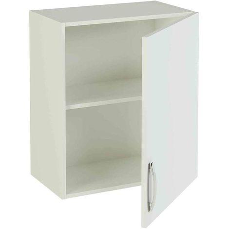 Mueble cocina alto de 60 para colgar con 1 puerta en varios colores Color Haya