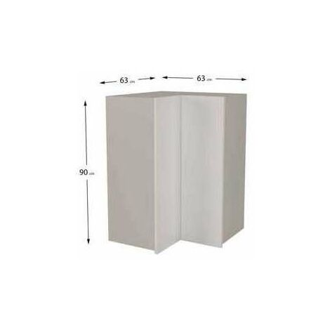 Mueble cocina alto de rincón de 63x63 en varios colores