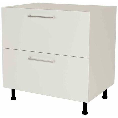 Mueble cocina bajo con cajones gaveteros en varios colores 85 cm(alto)80 cm(ancho)60 cm(largo)