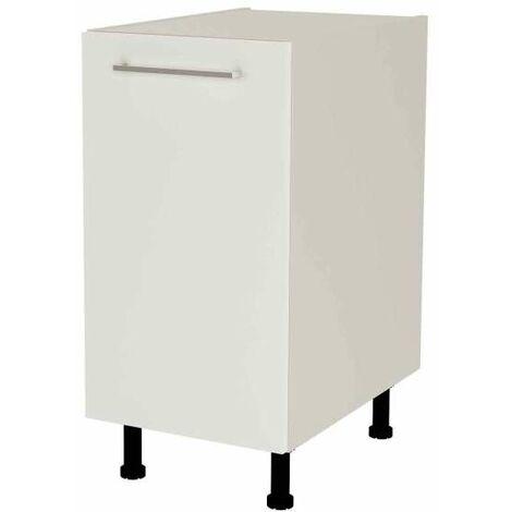 Mueble cocina bajo de 40 con 1 puerta en varios colores
