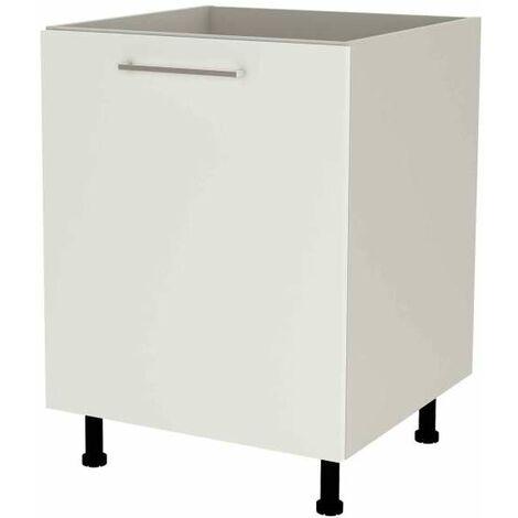 Mueble cocina bajo de 60 para fregadero en varios colores