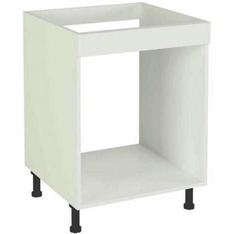 Mueble cocina bajo de 60 para horno en varios colores Color Haya