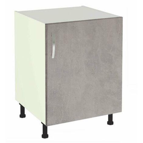 Mueble cocina bajo de 60 una puerta en varios colores