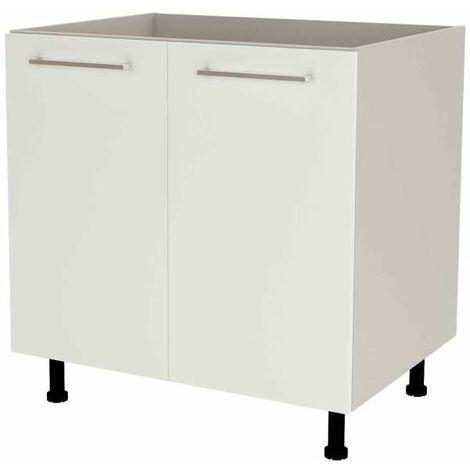 Mueble cocina bajo de 80 para fregadero en varios colores