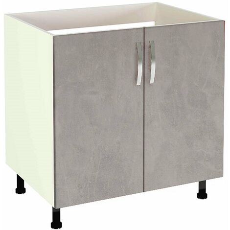 Mueble cocina para fregadero 2 puertas