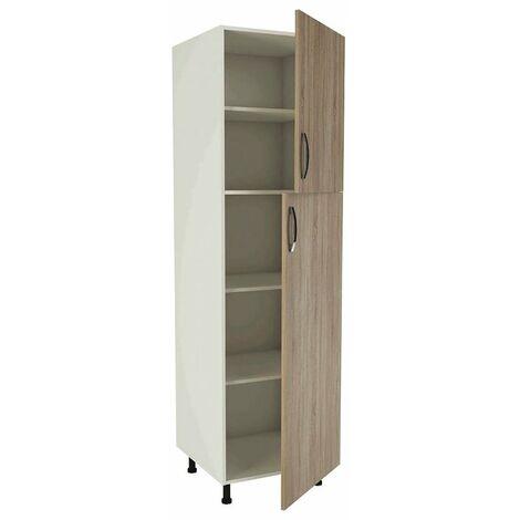 Mueble columna para cocina 2 puertas