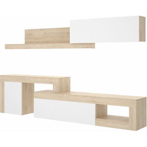 Mueble comedor Lebo Blanco - Natural