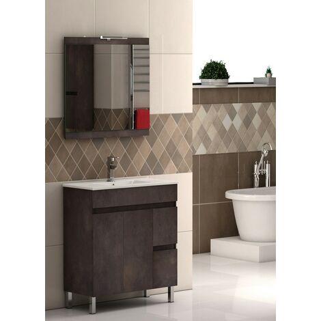 Mueble de baño 2 puertas 2 cajones Nilo