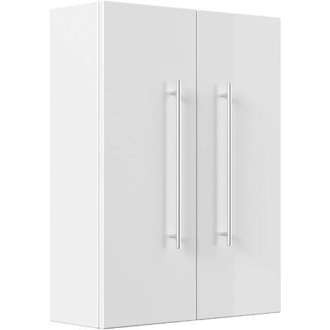 Mueble de baño Aurum-L Blanco brillante