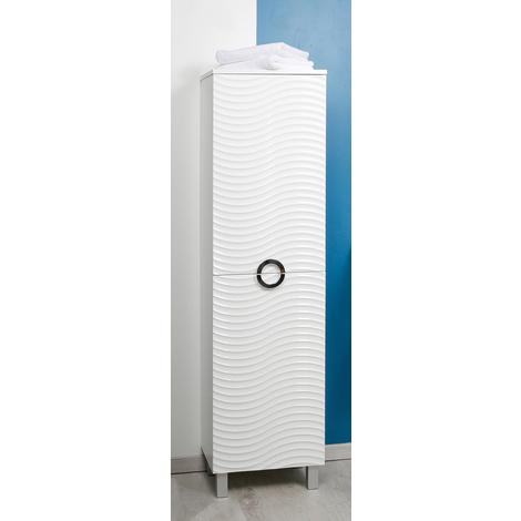 Mueble de bano BALEAL 80 BLANCO Dimensiones : 81x46,5x35 cm - Aqua+