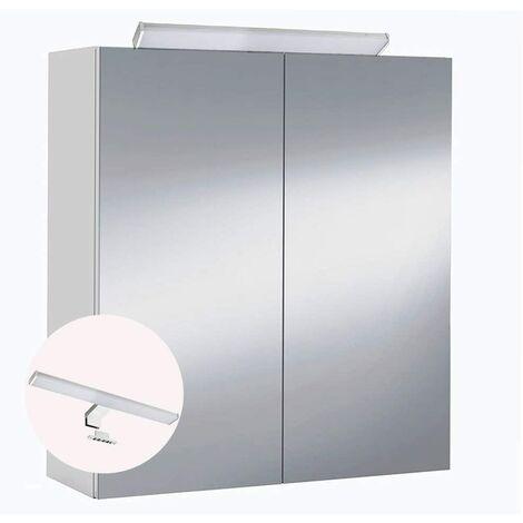 Mueble de baño camerino 2 puertas espejo con Iluminación LED incluida