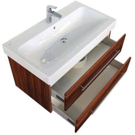 Mueble de baño con Lavabo Geberit Icon 90 cm Nuéz