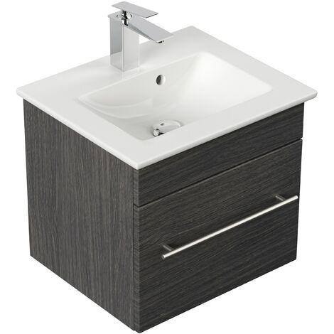 Mueble de baño con Lavabo Villeroy & Boch Venticello 50 cm antracita vetado