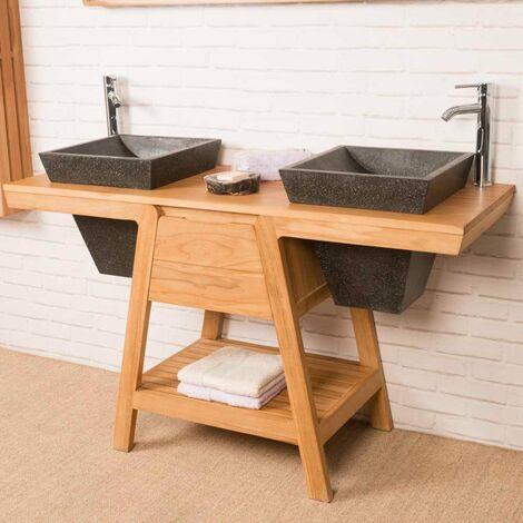 Mueble de baño de teca