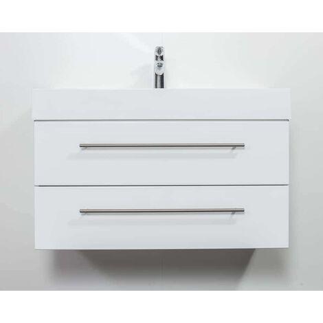 Mueble de baño Design 900 Blanco brillante