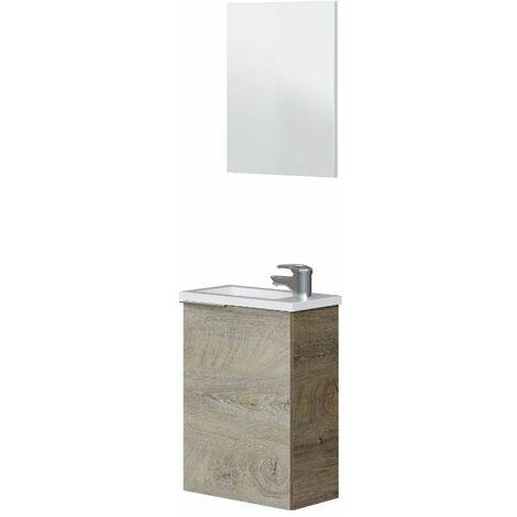 Mueble de baño + espejo + LAVABO