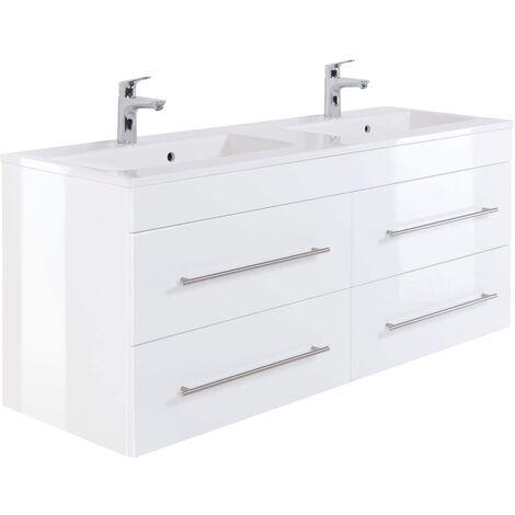 Mueble de baño Firenze 140 Blanco brillante