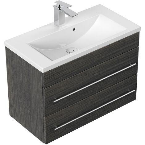 Mueble de baño Mars 700 SlimLine Antracita vetado