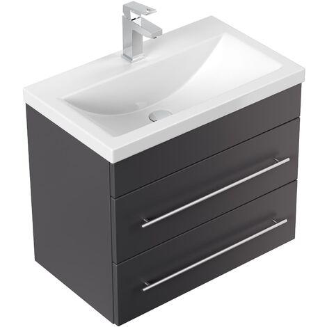 Mueble de baño Mars SlimLine 600 Antracita satinado