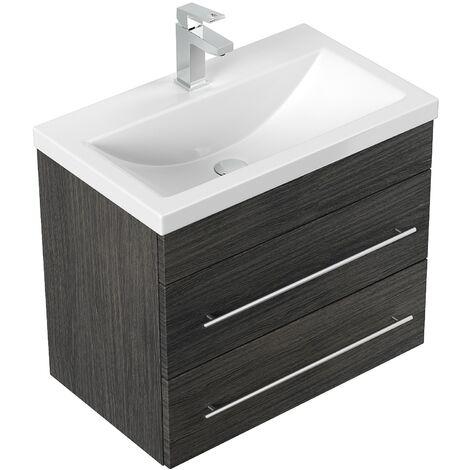 Mueble de baño Mars SlimLine 600 Antracita vetado