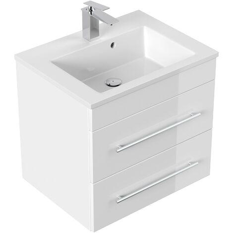 Mueble de baño Milet Blanco brillante