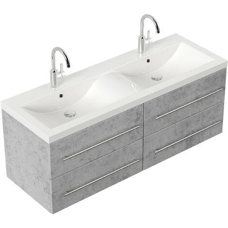 Mueble de baño Persepolis Xl Gris hormigón