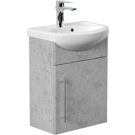 Mueble de baño Primus Gris hormigón