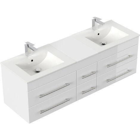 Mueble de baño Roma XL Blanco brillante