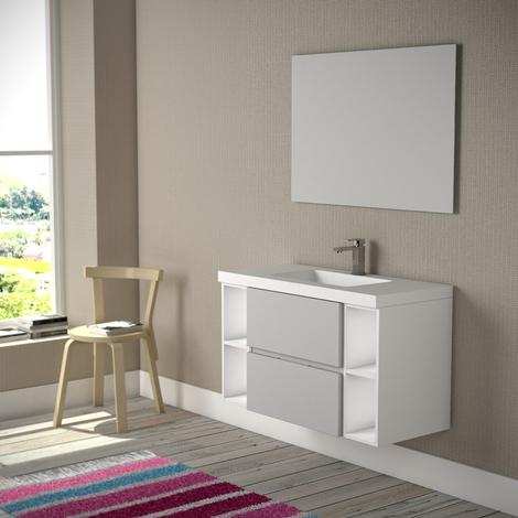 Mueble de baño Serie Monza Pino Sacramento