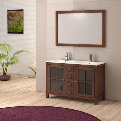 Mueble de baño Serie Sigma Nogal
